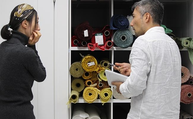 あまり知らない、縫製工場への依頼の流れ