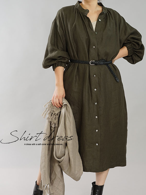 スタイリッシュなリネン服ならリネン革命中のwafu。