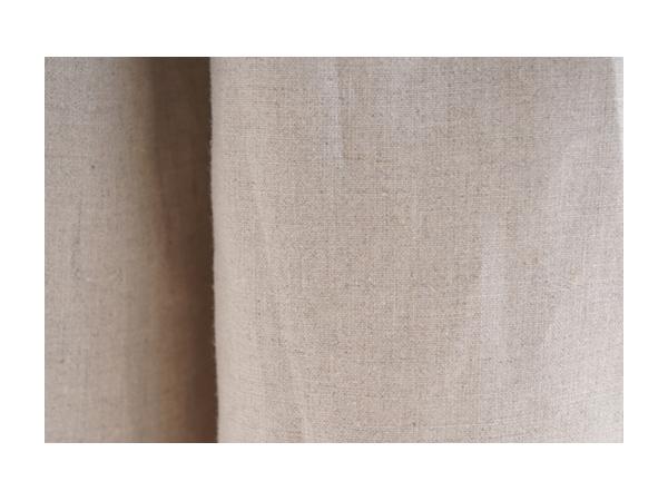 中厚 リネン パンツ ワイドキュロット スカーチョ 紐付き 後ろゴム / 亜麻ナチュラル【目安体系 13号(L)~15号(L)】b006c-amn2